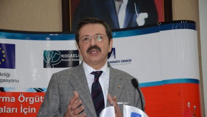 TOBB Başkanı Hisarcıklıoğlu: 'CERN İle İş Yapıyorum Diyorsan Kapılar Sonuna Kadar Açılır'