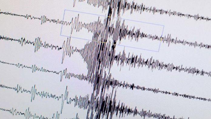 Bordum'da korkutan deprem