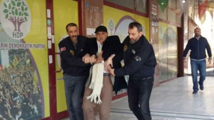 HDP'li başkanın da aralarında olduğu 8 kişiye tutuklama!