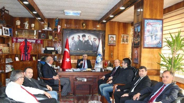 Türk Ocakları Zonguldak Şube GMİS'i Ziyaret Etti