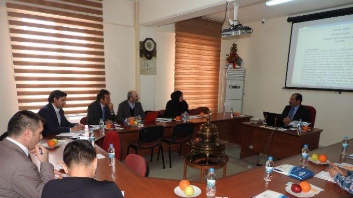 AR-GE Ve İnovasyon Toplantısı Yapıldı