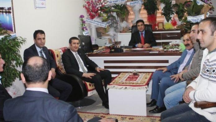 Başkan Menduhoğlu'ndan ABB'ye Ziyaret