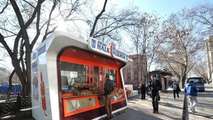 Halk Ekmek, Satış Büfelerini Yeniliyor