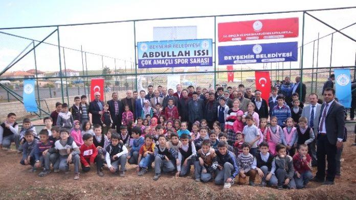 Karaali Mahallesi Abdullah Issı Çok Amaçlı Spor Sahası Hizmete Açıldı
