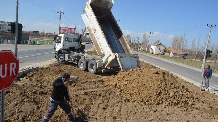 Ereğli Belediyesi'nde Yol Çalışmaları Devam Ediyor