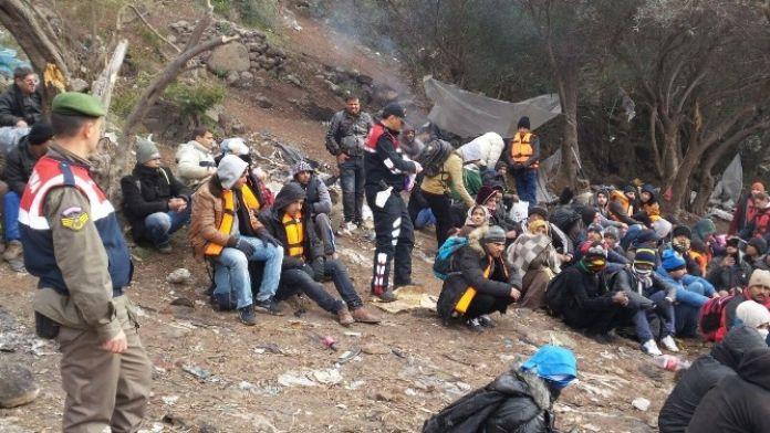 Çanakkale'de 149 Kaçak Yakalandı