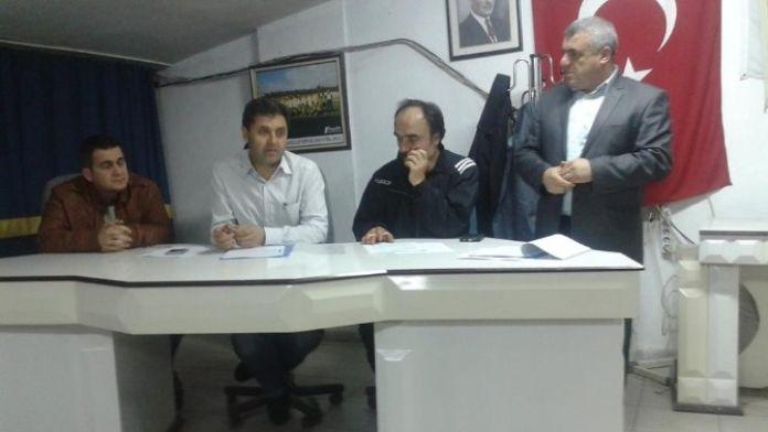 Beyşehir Fenerbahçeliler Derneği'nde Zeki Ağmaz Güven Tazeledi