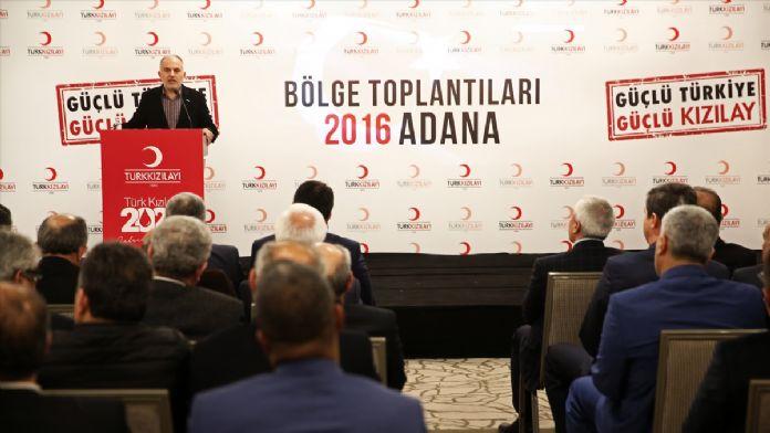Türk Kızılayı Adana Bölge Toplantısı