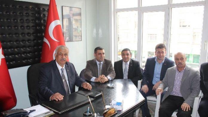 MHP İl Başkanı Saltan, Görevine Başladı