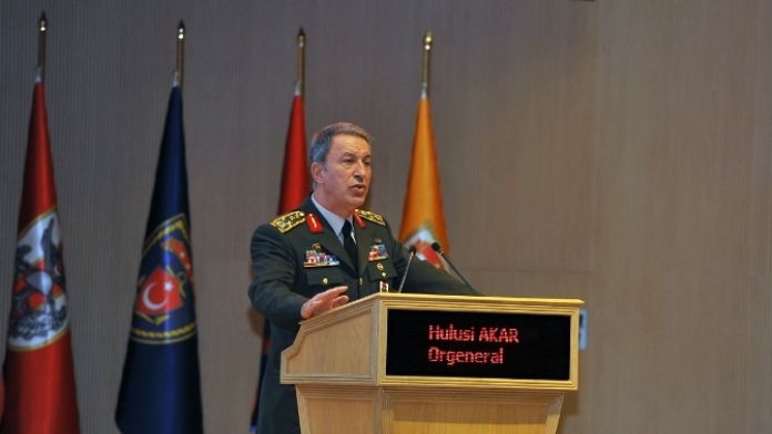 17 Şubat şehitleri Genelkurmay Başkanlığında törenle anıldı