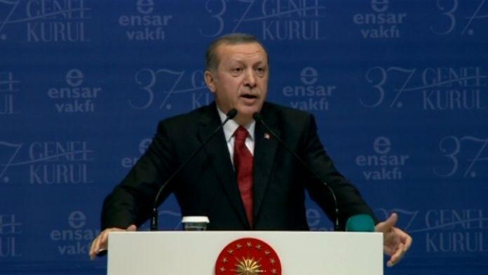 Erdoğan'dan Cerattepe yorumu: 'Bunlar da yavru Gezici'