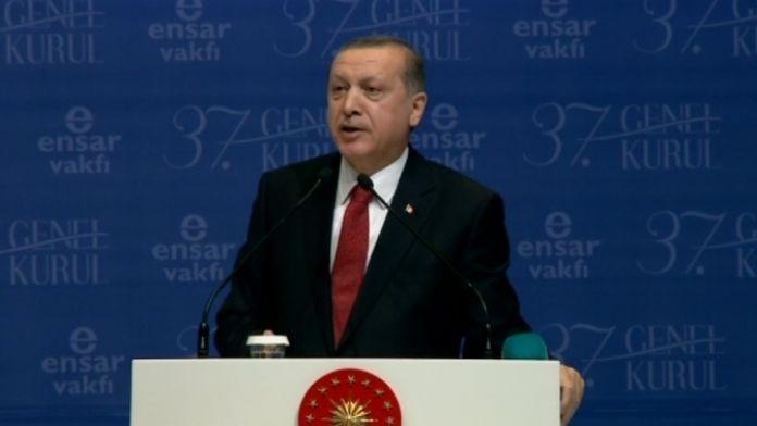 Erdoğan: 'Artık bunların sığındıkları dokunulmazlığın gereği yapılmalı'