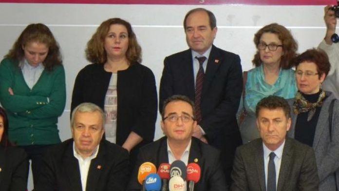 CHP'li Tezcan: Biz Erdoğan ve AKP'nin başkanlık sevdasının yedek lastiği olmayız