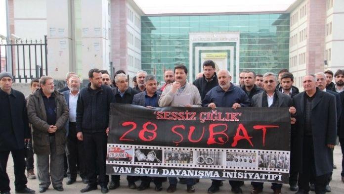 Van'da '28 Şubat' Açıklaması