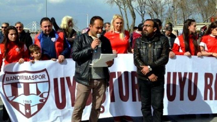 Bandırma'da 'Uyuşturucuya Hayır' Eylemi