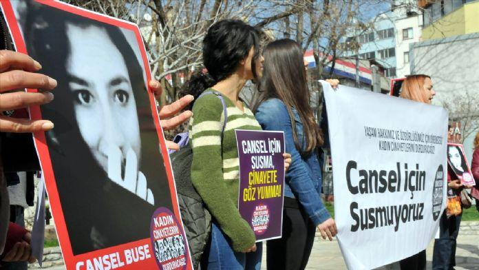 Muğla'da 'kadın cinayetleri' protesto edildi