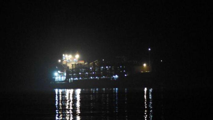 Çanakkale Boğazı'ndan geçen gemi makine arızası yaptı