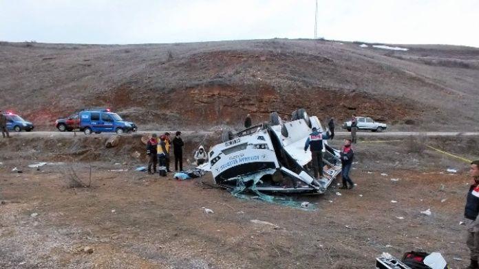 Kayseri'de feci kaza !