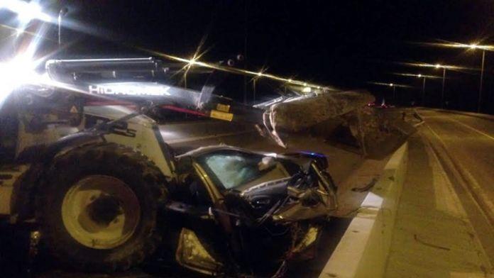 Otomobil 6 parçaya ayrıldı: 1 ölü