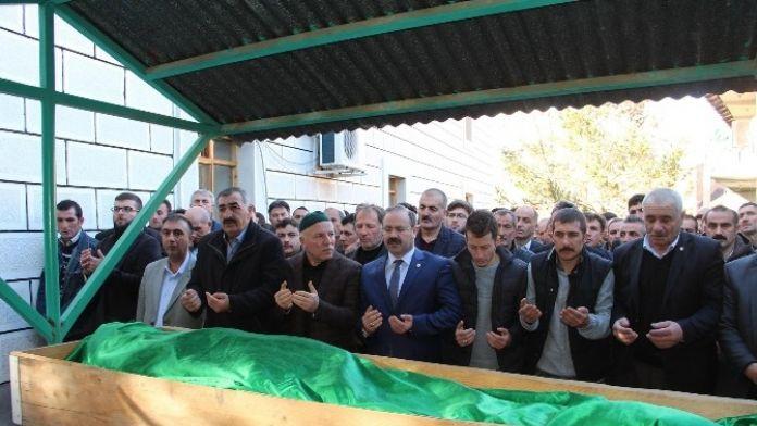 AK Parti ilçe başkanına son görev