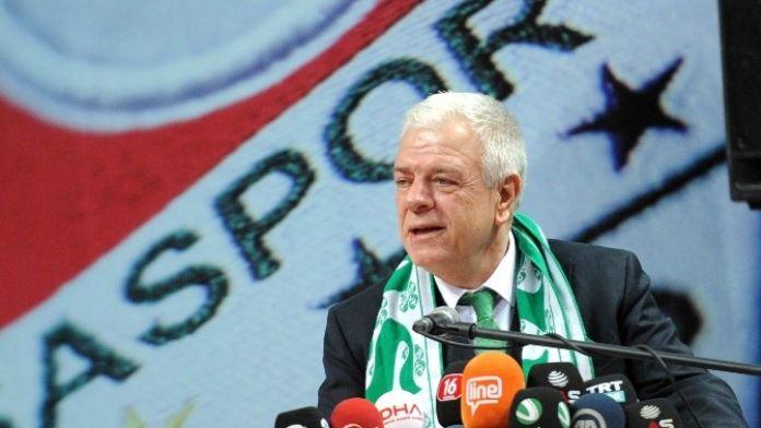 Bursaspor'da Futbolculara Başkandan Ekstra Prim
