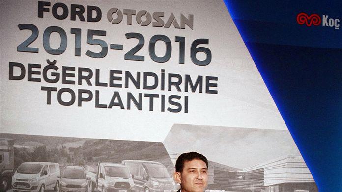 'Ford Otosan 2015'te üretim, satış ve ihracatta rekor kırdı'