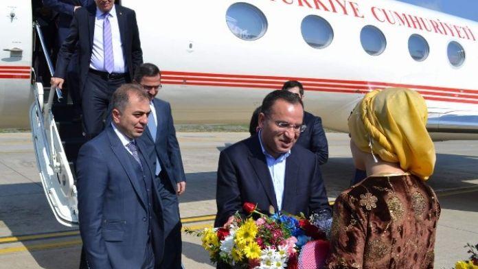 Adalet Bakanı Bozdağ, Siirt Adliyesini Ziyaret Etti