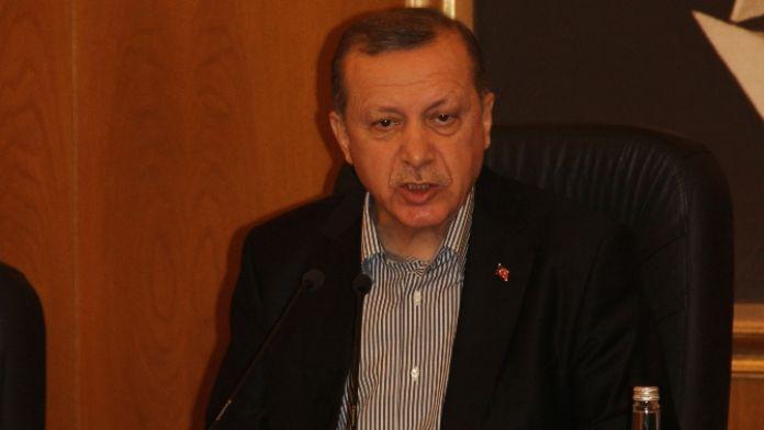 Erdoğan'dan sert PYD çıkışı !