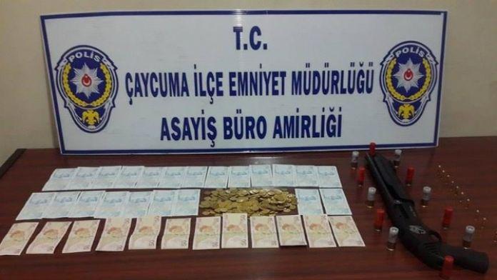Çaycuma Emniyeti'nden Sahte Para Ve Altın Operasyonu