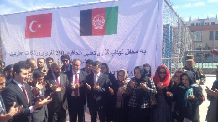 TİKA'nın Kabil'de yaptırdığı 250 yatak kapasiteli kız yurdu inşaatının temeli törenle atıldı