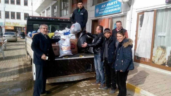 AK Parti Daday İlçe Başkanlığından Bayır Bucak Türkmenlerine Yardım