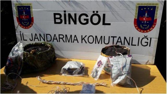 Bingöl'de PKK sığınağı ortaya çıkarıldı