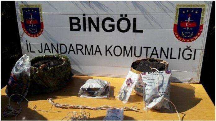 Bingöl'de PKK'ya Ait Depo Bulundu
