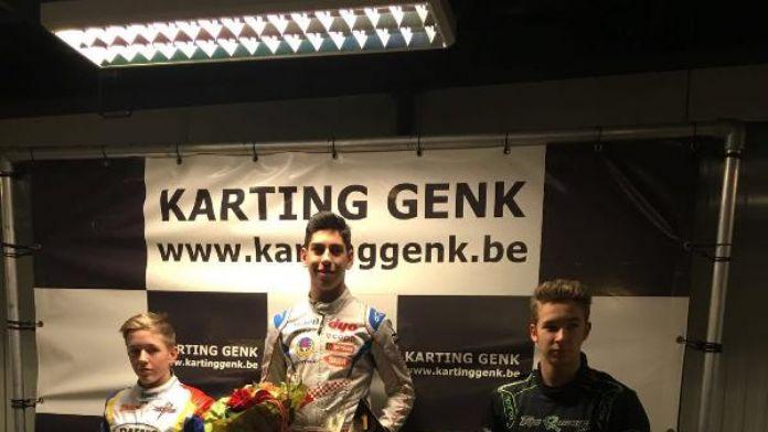 Milli Karting sporcusu Besler, Belçika'da 1. oldu