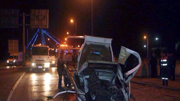 Konya'da feci kaza : 2 ölü
