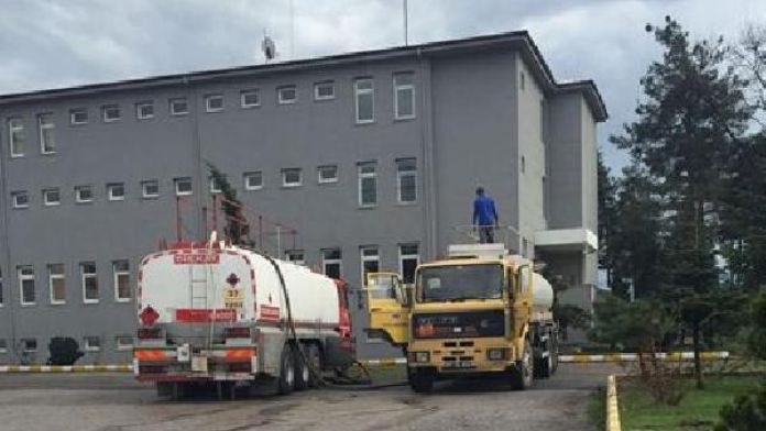 Hendek'te kaçak akaryakıt operasyonu