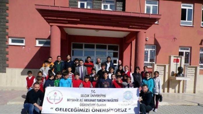 Beyşehir'de 'Geleceğimizi Önemsiyoruz' Projesi