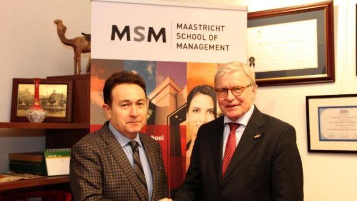 AGÜ ile Maastricht Üniversitesi arasında işbirliği anlaşması