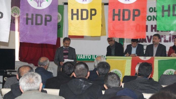 HDP Varto İlçe Başkanlığı'na Karakoyun Seçildi