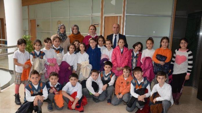Minik Öğrenciler Körfez Belediyesi'ni Ziyaret Etti