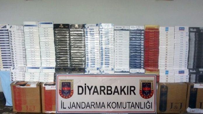Diyarbakır'da 110 Bin Paket Kaçak Sigara Ele Geçirildi