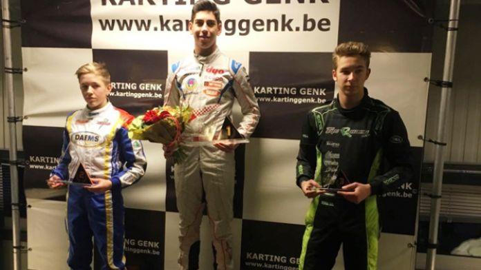 Milli sporcu Belçika'da birinci oldu
