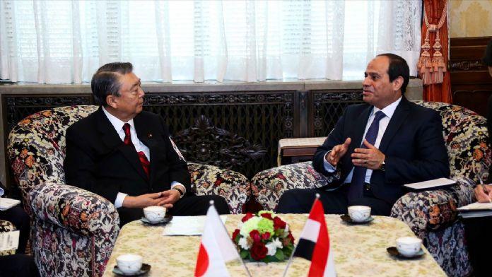 Mısır Cumhurbaşkanı Sisi'nin Japonya temasları başladı