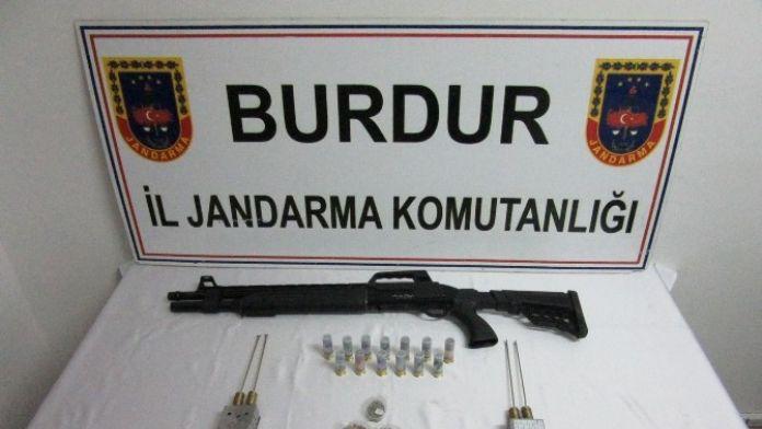 Burdur'da Kaçak Kazı Operasyonu