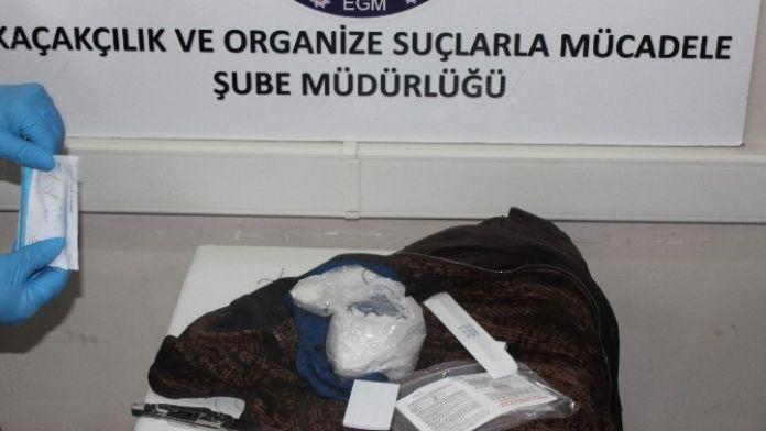 Kırıkkale'de 400 Gram Metamfetamin Ele Geçirildi