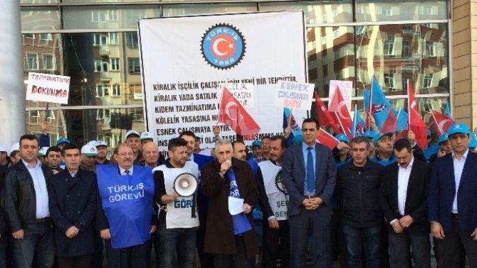 Türk-iş'ten Türkiye İş Kurumu Kanunu Tasarısına Tepki