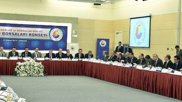 Türkiye Borsaları Ankara'da Buluştu