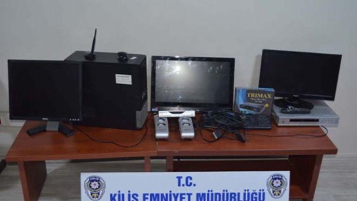 Kilis'te Hırsızlık Şüphelisi 2 Kişi Tutuklandı