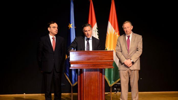 AB Irak Büyükelçisi Simonetta'nın Erbil ziyareti