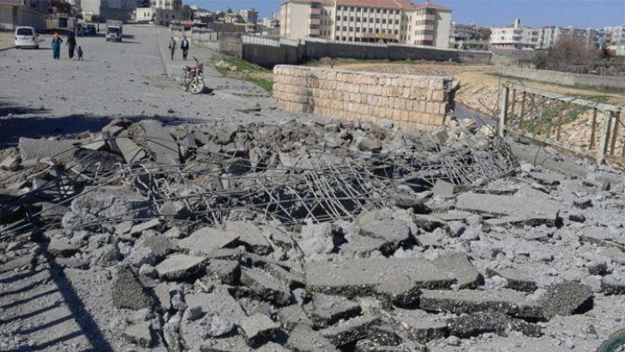 Nusaybin'de bombalı saldırı
